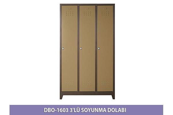 1603 ÜÇLÜ SOYUNMA DOLABI