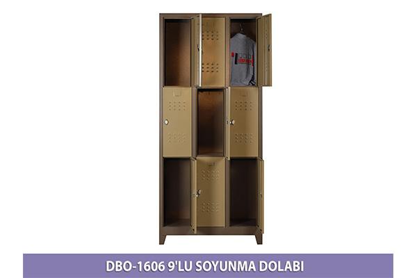 1606 DOKUZLU SOYUNMA DOLABI