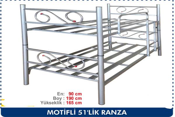 MOTİFLİ 51LİK RANZA
